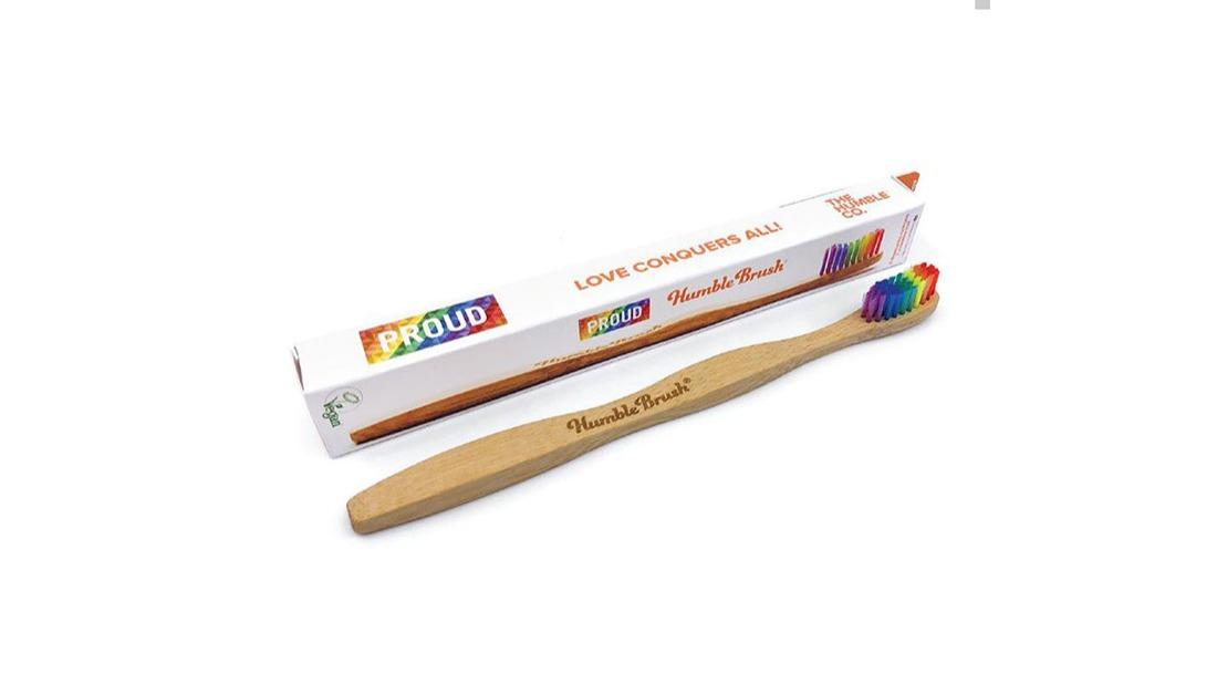 選物》好好愛自己、好好愛地球!Humble Brush環保彩虹牙刷
