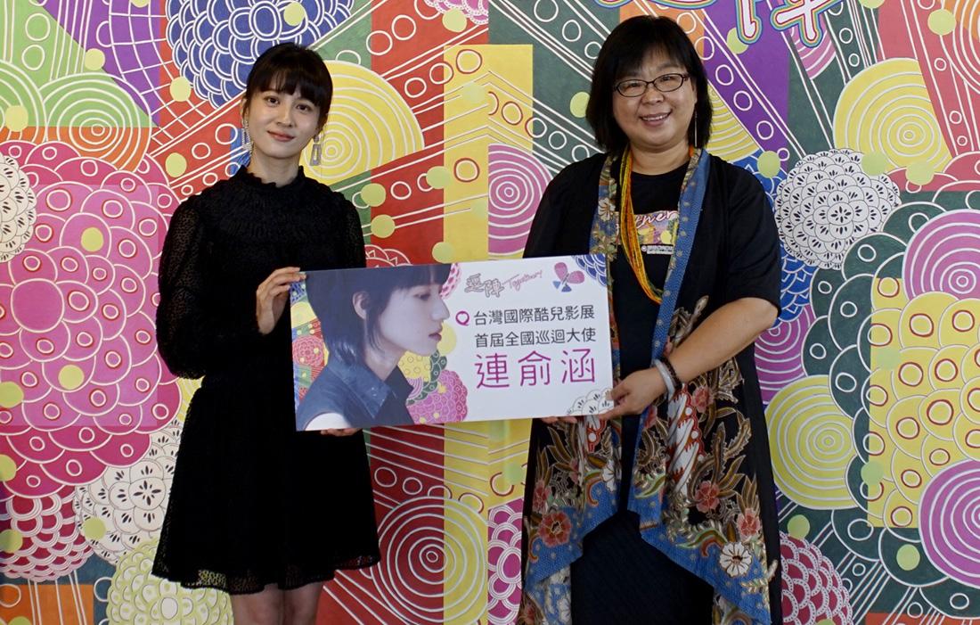 連俞涵擔任酷兒影展首屆巡迴大使,期盼將平權的亮光帶到各地