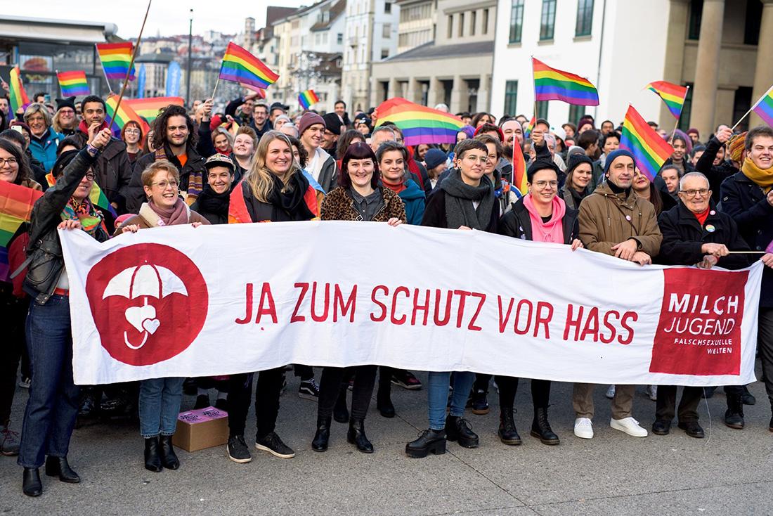 瑞士公投通過禁止性傾向歧視,寫下平權里程碑