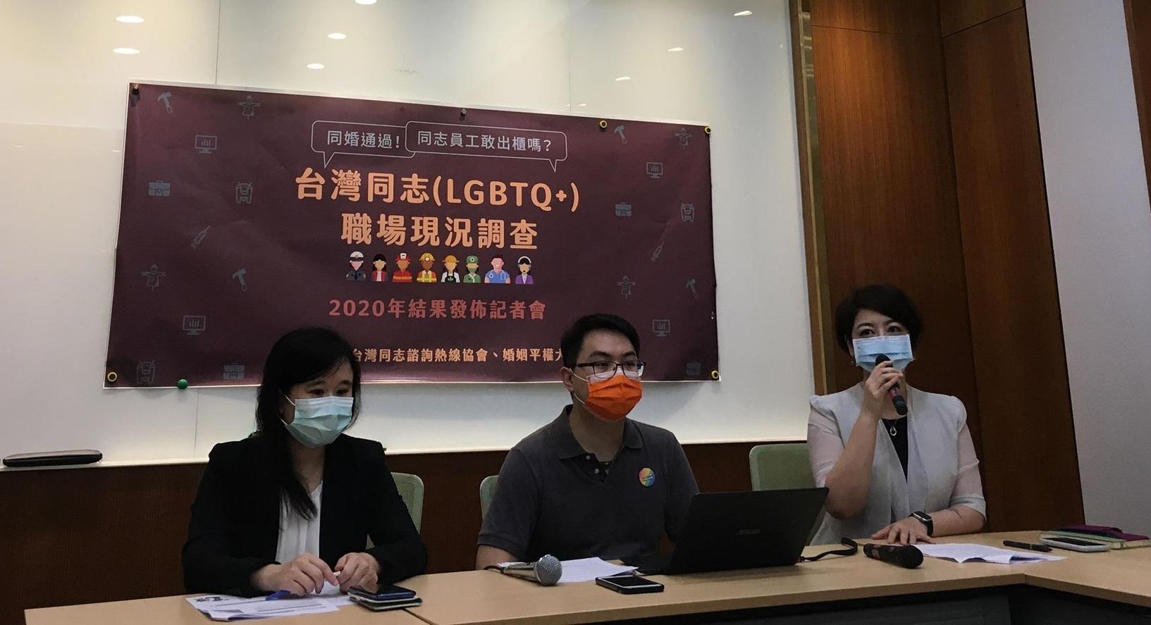 LGBTQ職場現況調查:同婚通過,同志員工敢出櫃嗎?