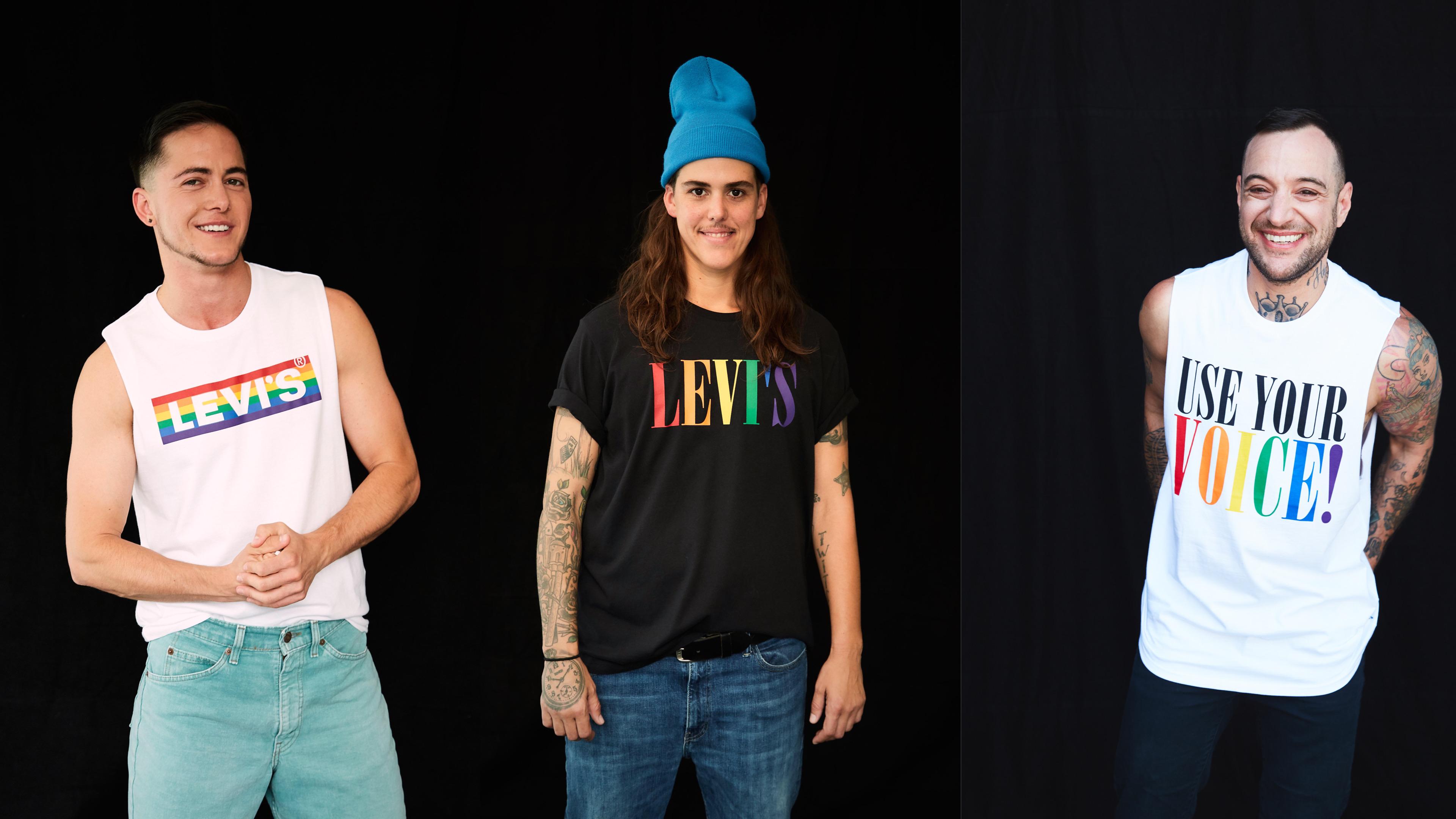 用你的聲音,為自己發聲 LEVI'S 2020 PRIDE平權系列讓你勇敢地表現自我