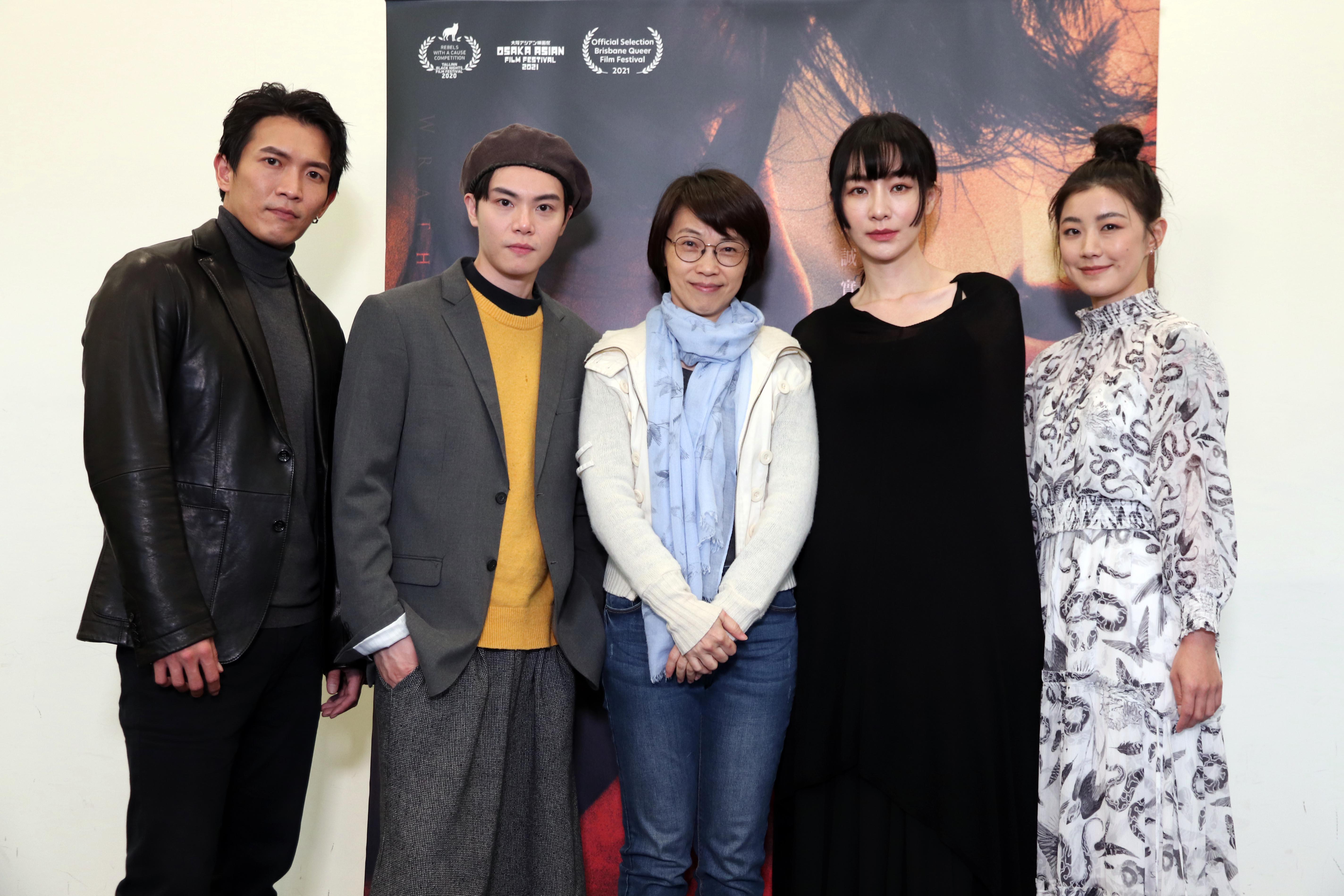 周美玲導演新片《愛・殺》,女女超尺度床戲挑戰人性情慾感官