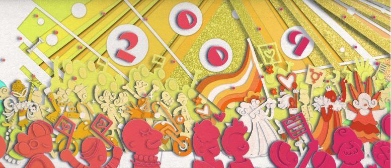 Google Doodle慶祝同志遊行五十週年,搜尋首頁換上彩虹遊行圖像