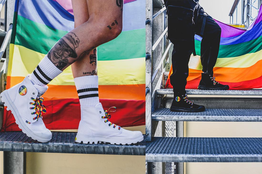 PALLADIUM驕傲月翻玩經典,推出PAMPA PRIDE彩虹限定系列軍靴