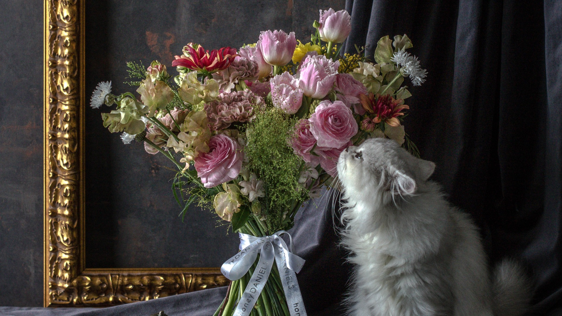 honeyDANIELS Florist打造城市叢林裡華麗而自然的歐式花藝美學
