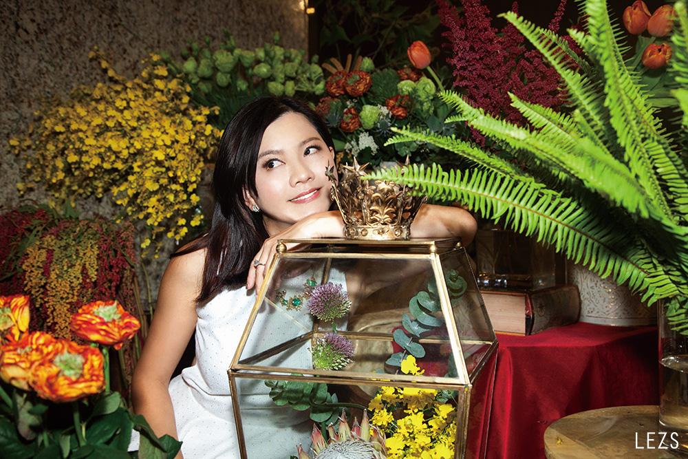 當她們許下盟誓—honeyDANIELS florist 總監 陳譓如
